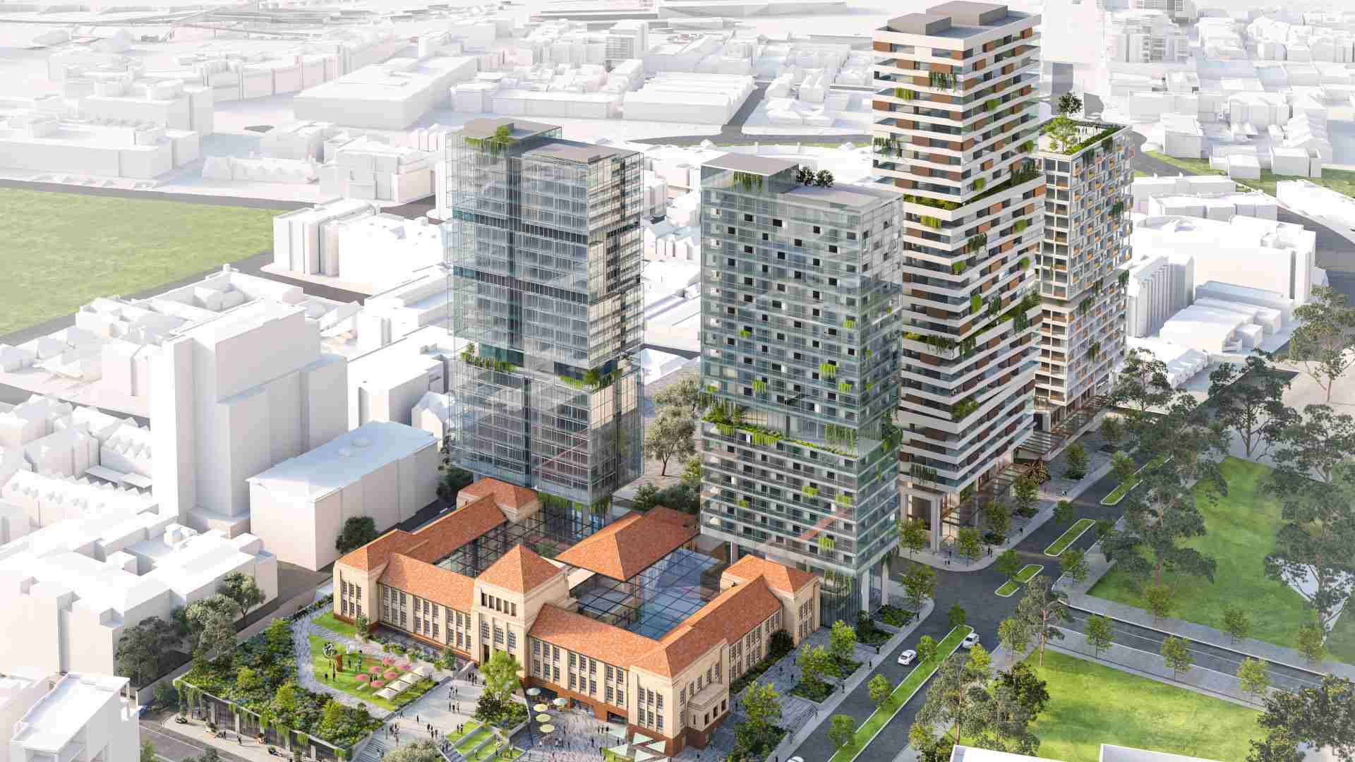 Major projects to enhance East Perth enclave