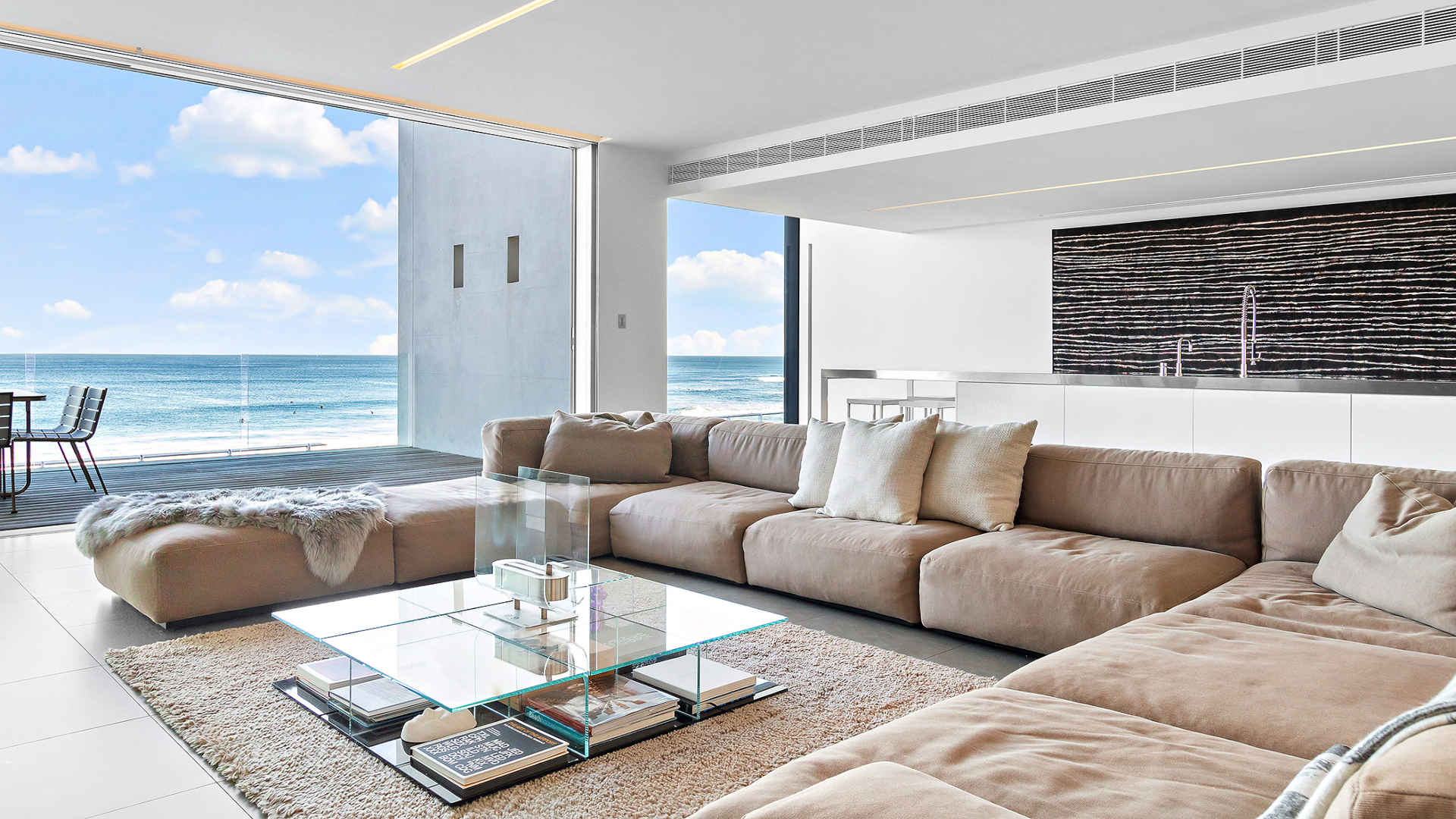There was hot demand for this beachfront home in Newcastle. Photo: PRD Nationwide