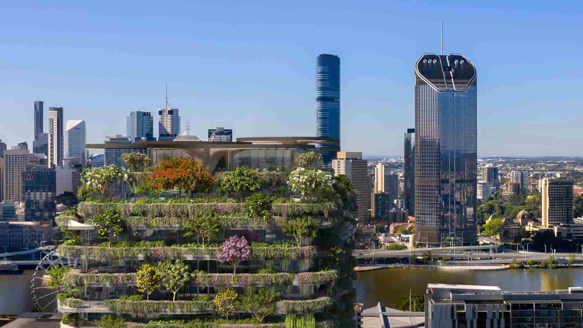 Global spotlight shines on Australia's greenest building