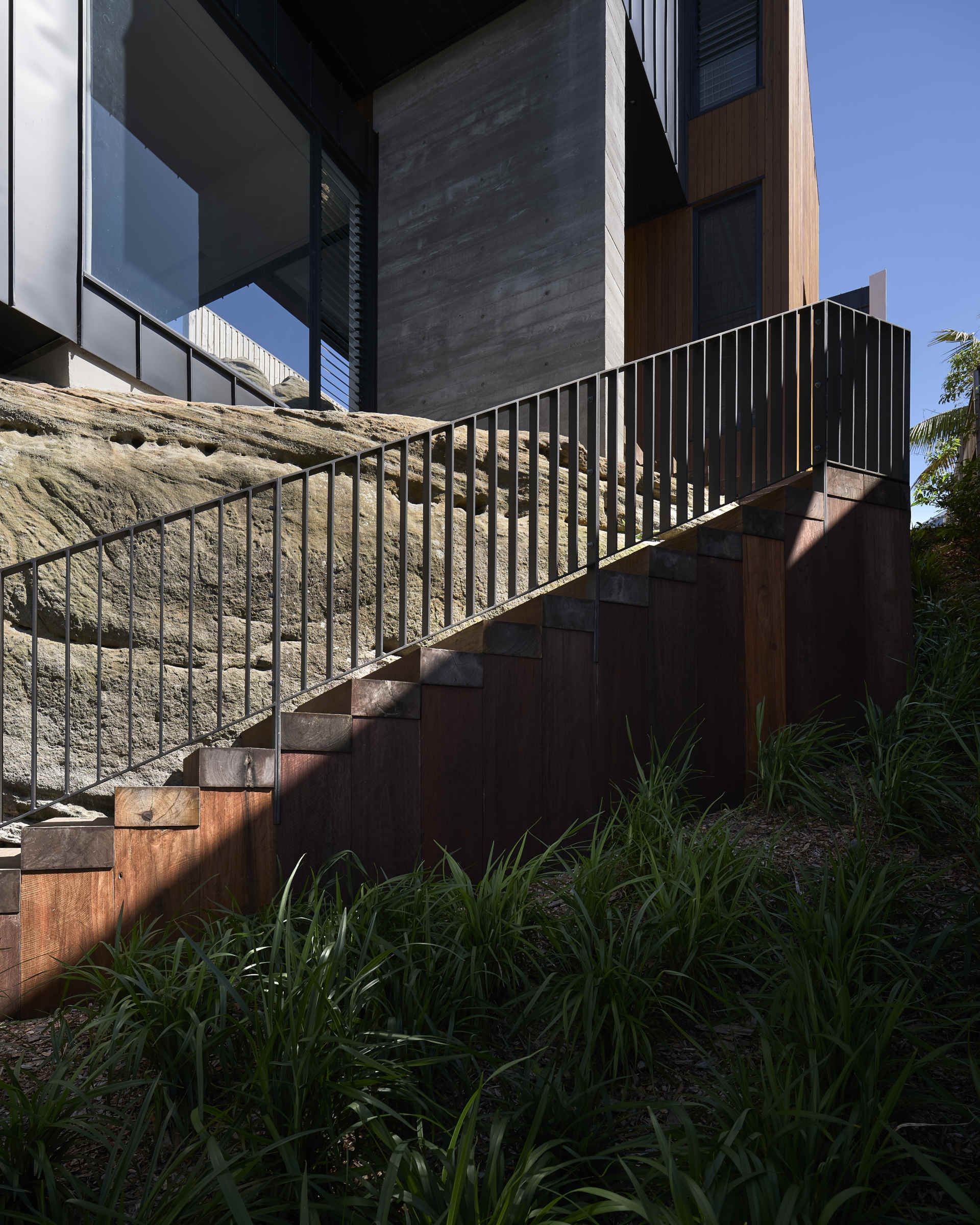 The North Curl Curl home was designed to take full advantage of its stunning natural setting. Photos: HIA