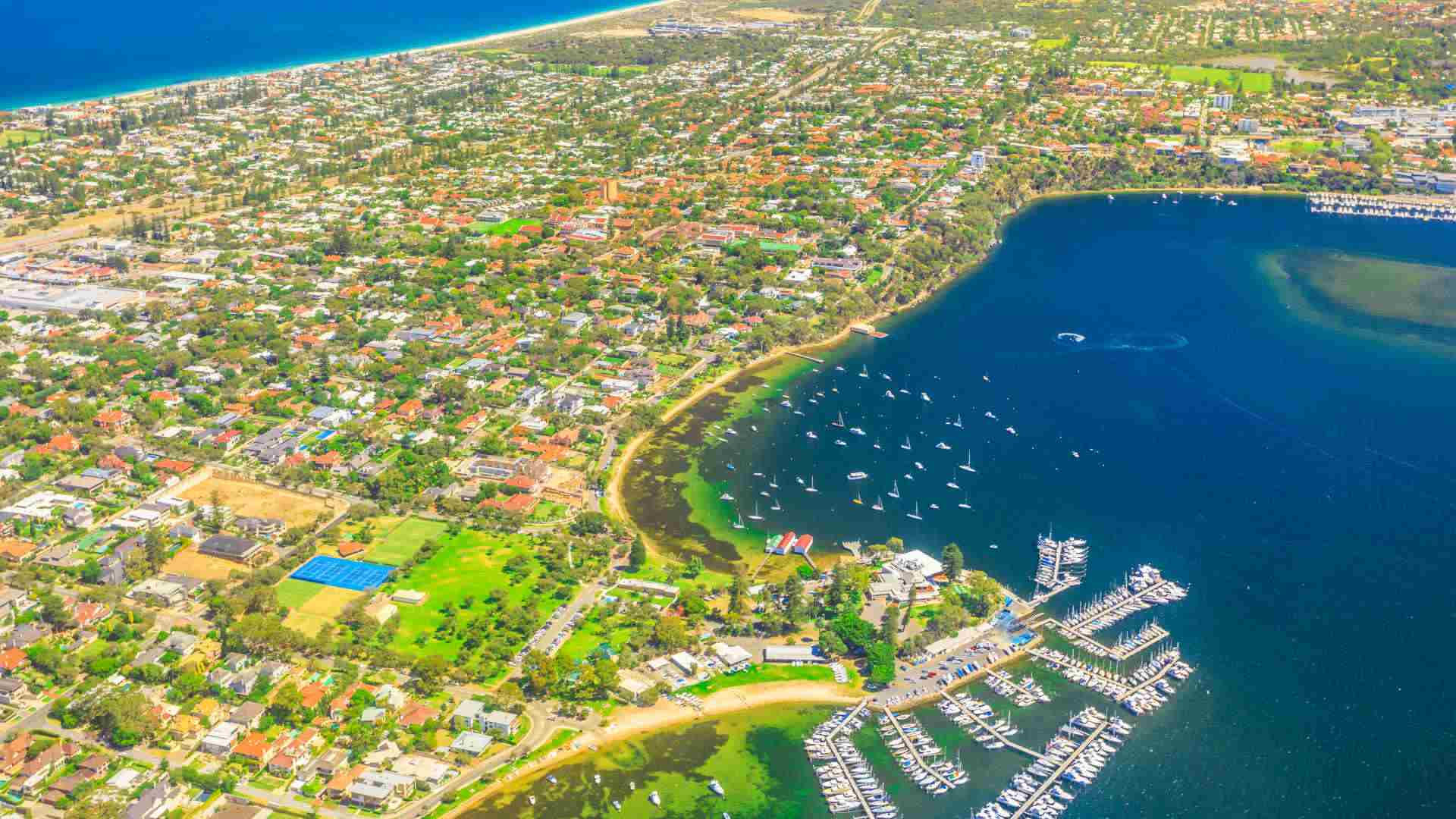 Perth moving from frozen digits to double digit growth
