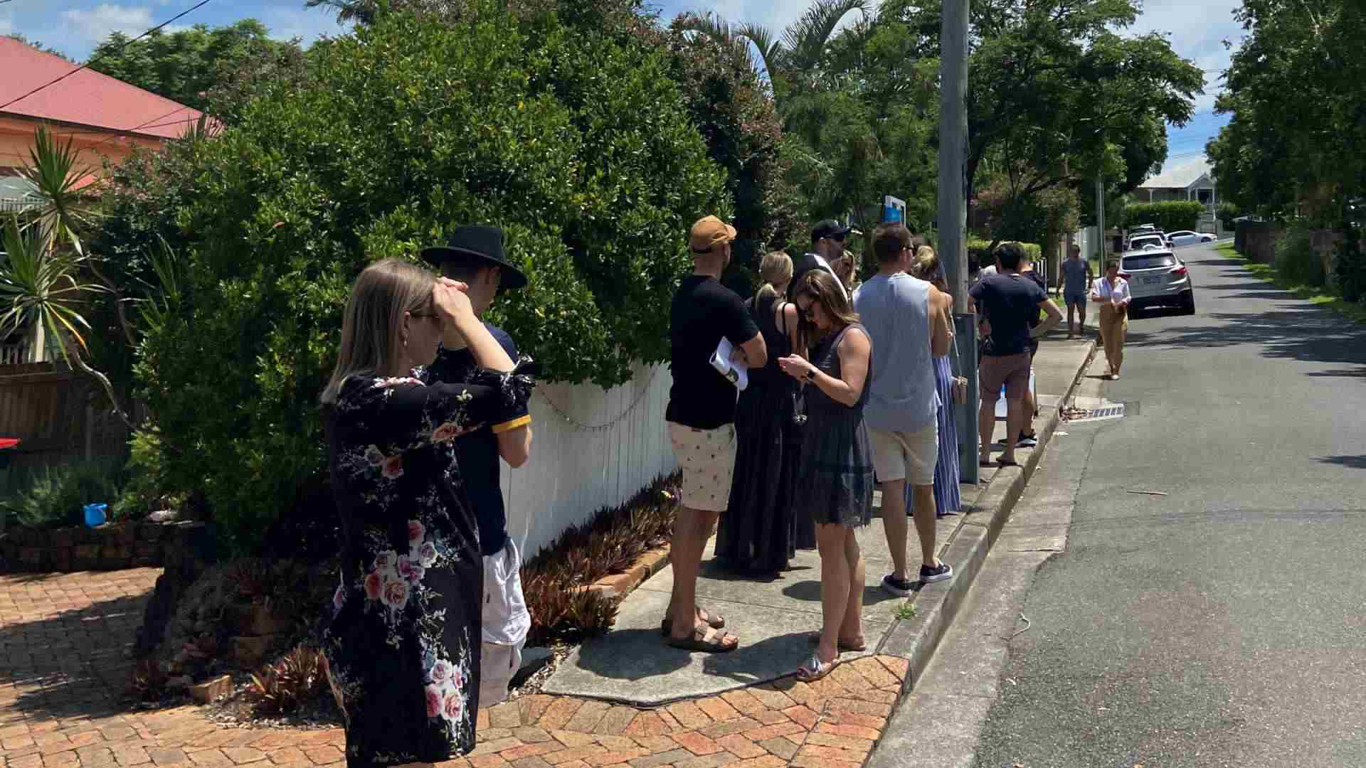 Brisbane demand creating chaos at home opens