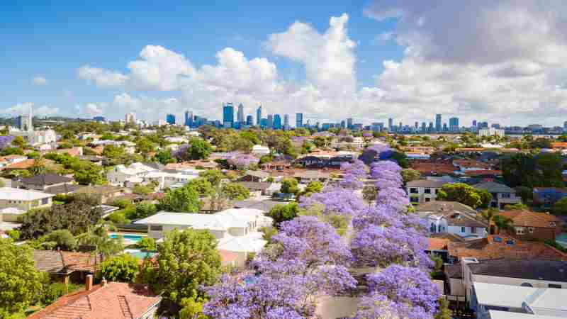 Affordable suburbs rise fastest as Perth's rebound eases